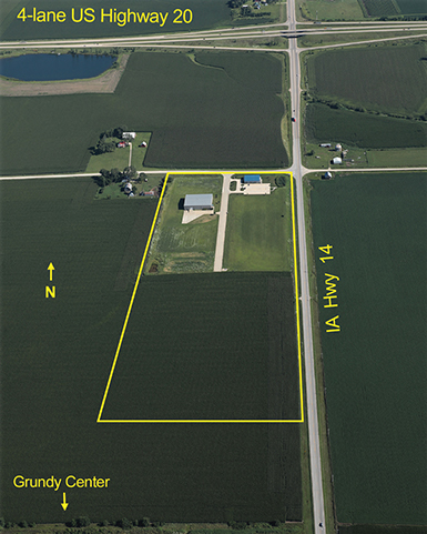Grundy County Industrial Park Offers Rural Setting Along U.S. Highway 20